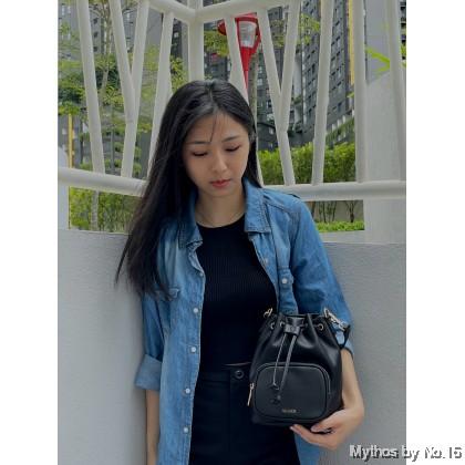 Luna Bucket Bag - Black