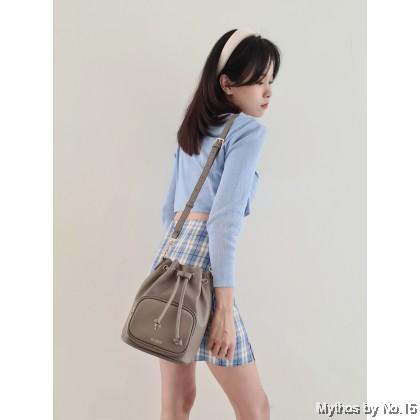Luna Bucket Bag - Grey